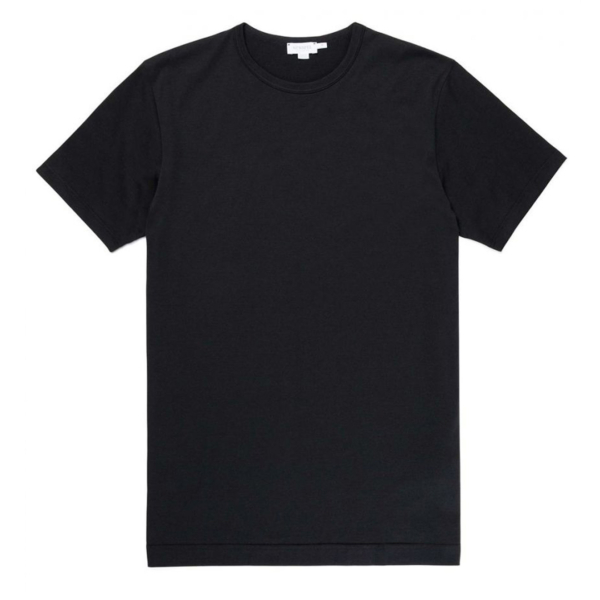 Sunspel Classic Crew T-Shirt Black