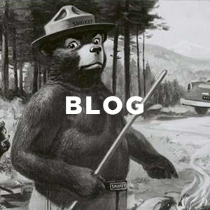Filson Smokey Bear Public Information Poster Helping Prevent Forest Fires