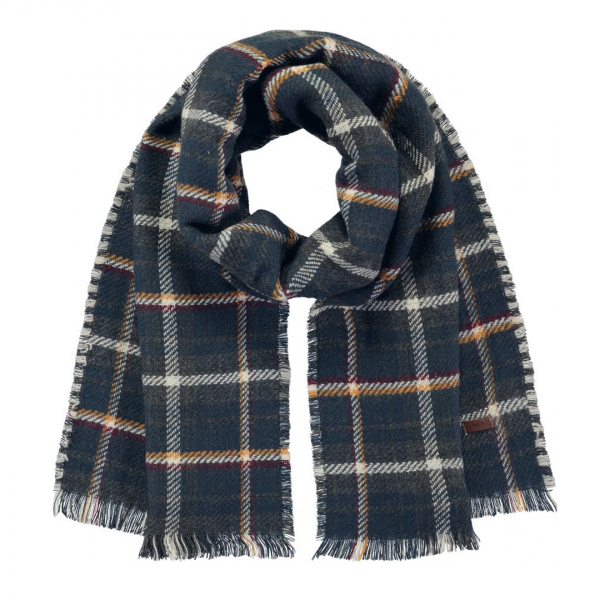 Barts Valence Scarf Dark Heather