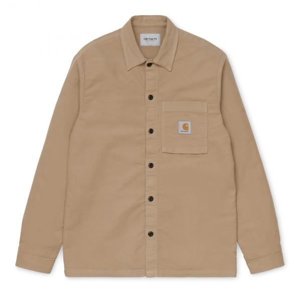 Carhartt Holston Shirt Leather Rinsed