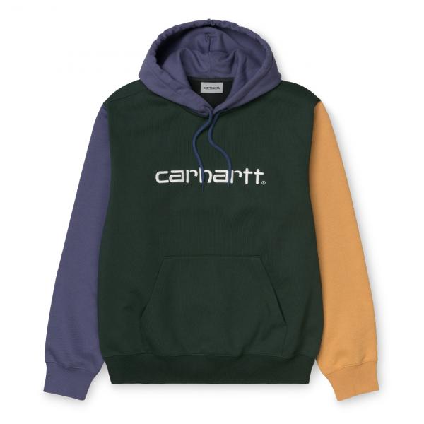 Carhartt Hooded Carhartt Tricol Sweat Dark Teal