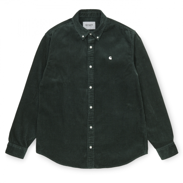 Carhartt Madison Cord Shirt Dark Teal / Wax