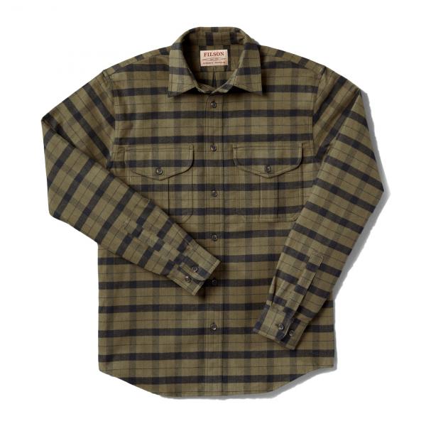 Filson Alaskan Guide Long Sleeve Shirt Green / Black