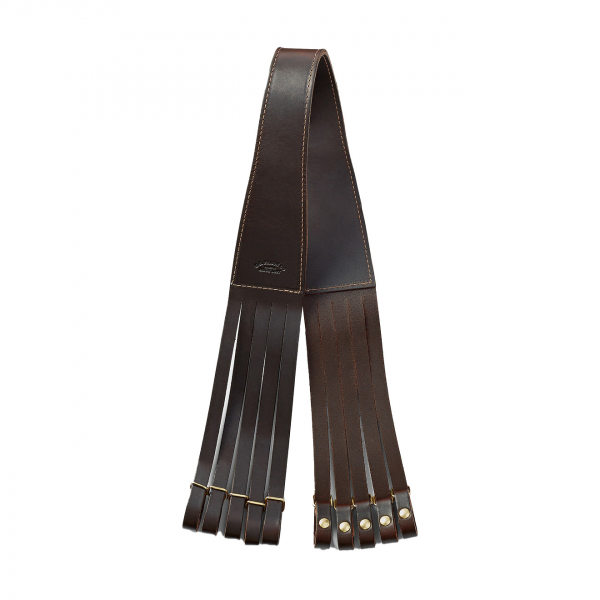 Filson Bridle Leather Bird Straps Brown
