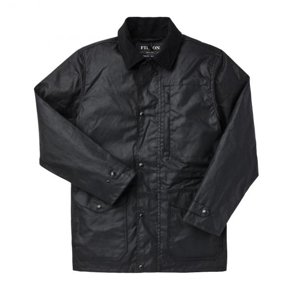Filson Cover Cloth Mile Marker Black