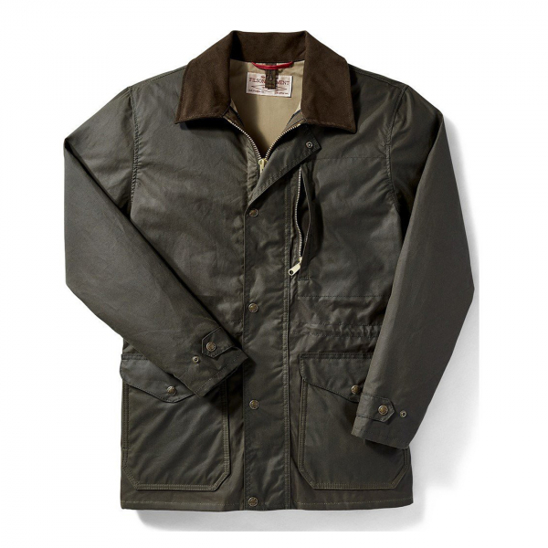Filson Cover Cloth Mile Marker Coat Otter Green