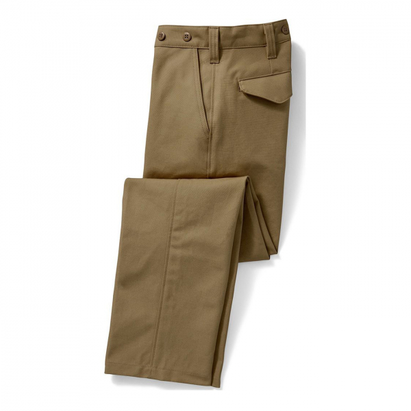 Filson Dry Tin Pant Dark Tan