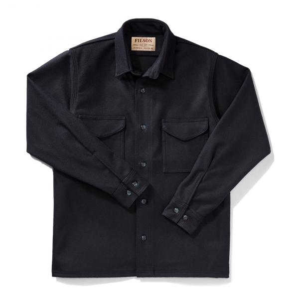 Filson Jac Shirt Extra Long Navy