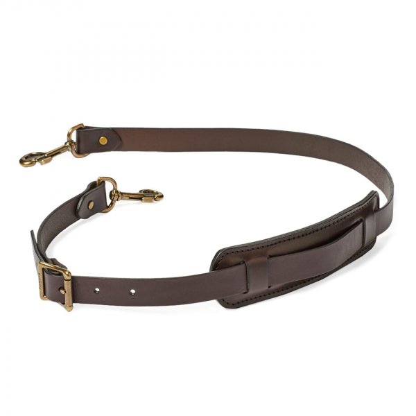 Filson Leather Shoulder Strap With Pad 33