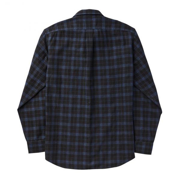 Filson Lightweight Alaskan Guide Shirt Black / Blue / Heather