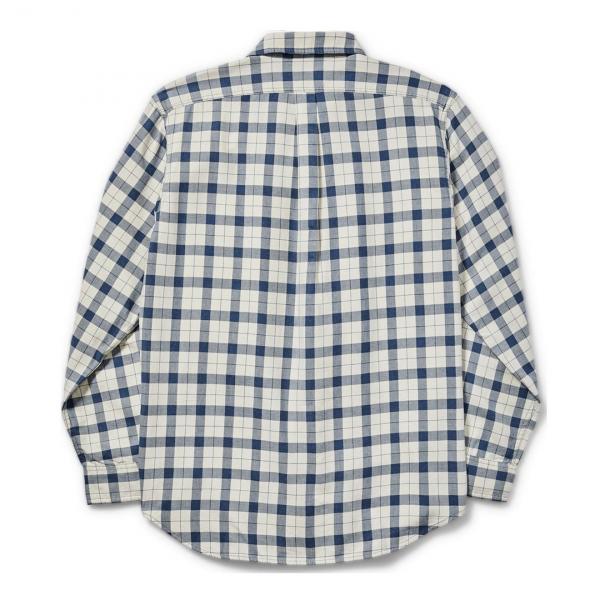 Filson Lightweight Alaskan Guide Shirt Natural / Blue / Heather