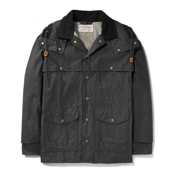 Filson Lightweight Dry Cloth Cruiser Black