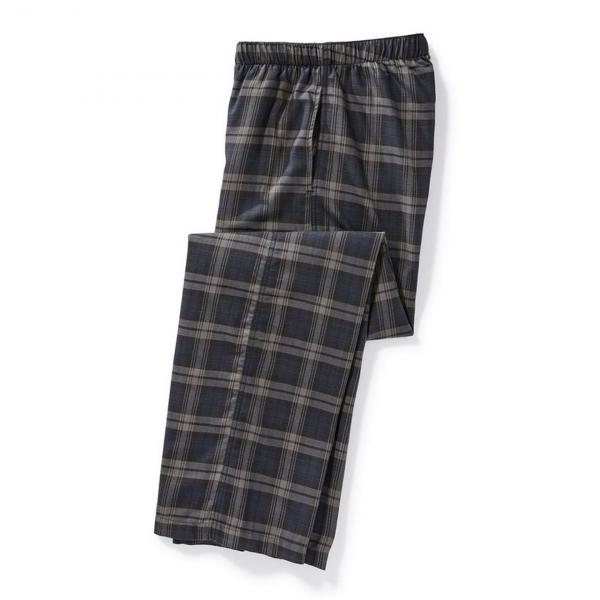 Filson Lightweight Flannel Lounge Bottoms Grey / Black / Navy