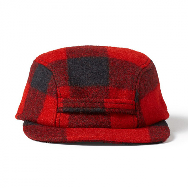 Filson Mackinaw Cap Red Black