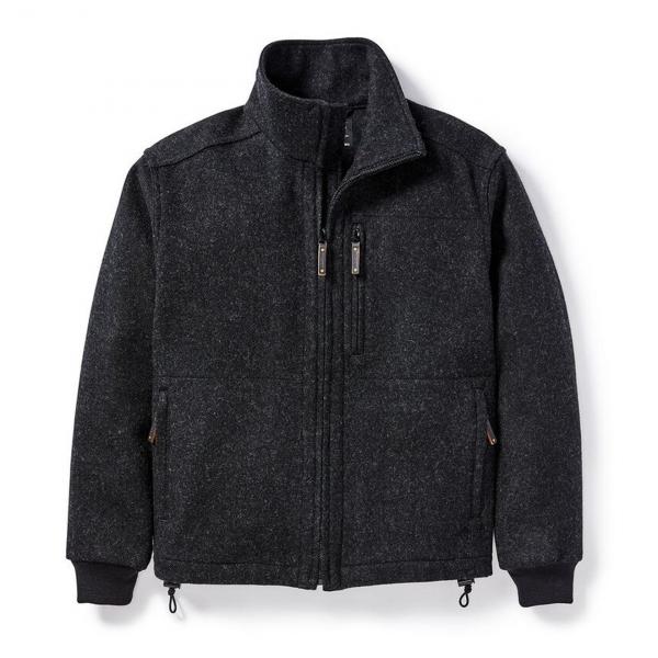 Filson Mackinaw Wool Field Jacket Charcoal