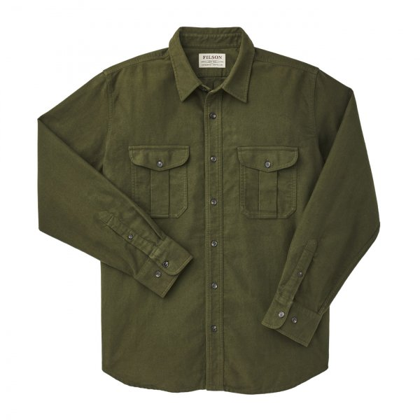 Filson Moleskin Seattle Shirt Dark Olive