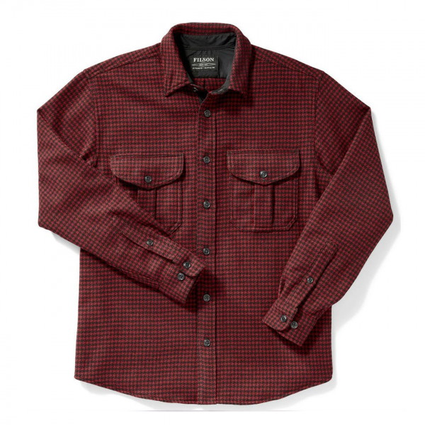 Filson Northwest Wool Shirt Red / Black