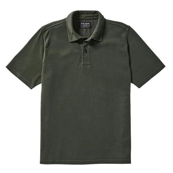 Filson Polo Shirt Forest