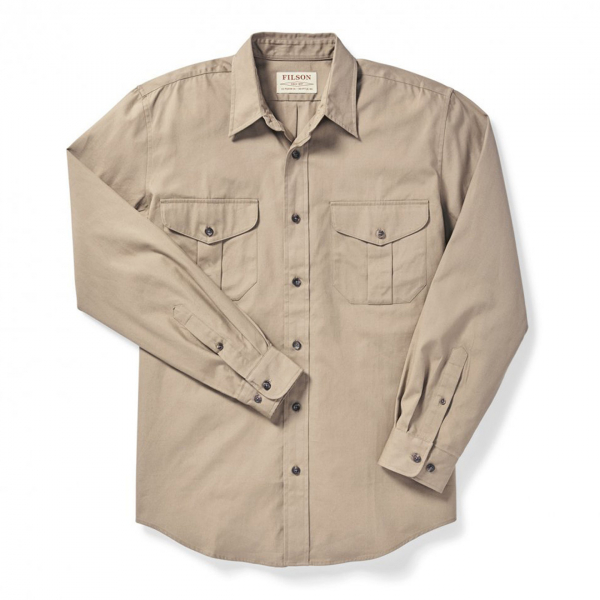 Filson Safari Cloth Shirt Khaki