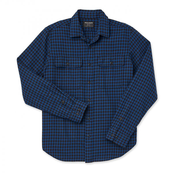 Filson Scout Shirt Blue / Black Check