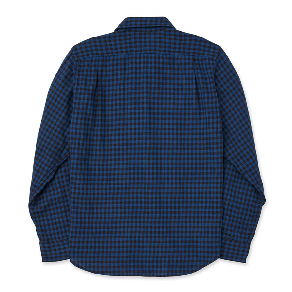 Filson Scout Shirt Blue / Black Check