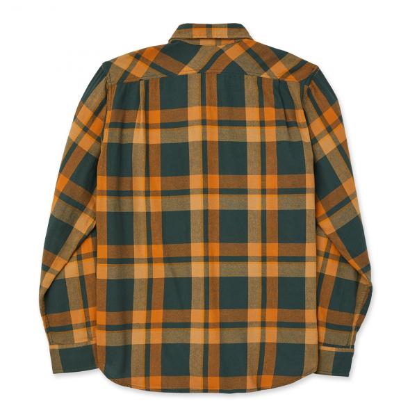 Filson Scout Shirt Green / Gold Plaid
