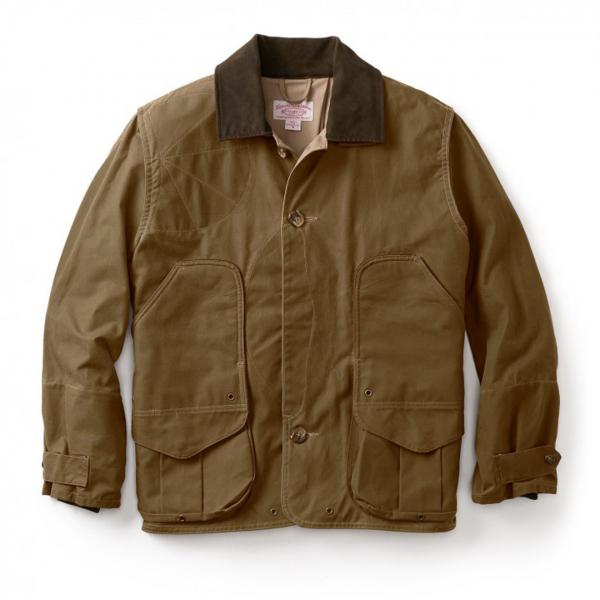 Filson Shelter Waterfowl Upland Coat Dark Tan