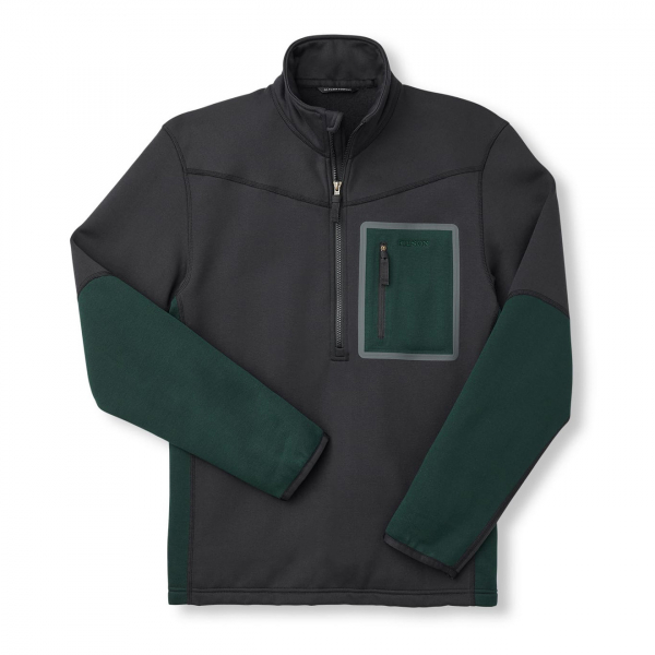 Filson Shuksan Half-Zip Fleece Black/Fir