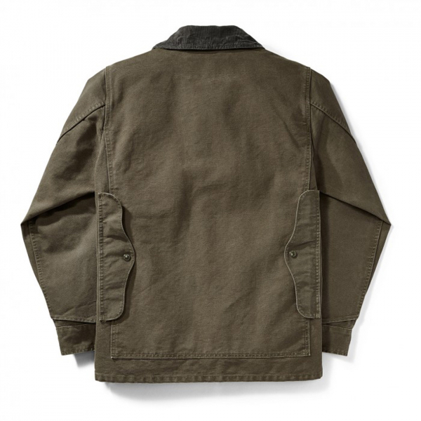 Filson Stonewashed Canvas Cruiser Otter Green