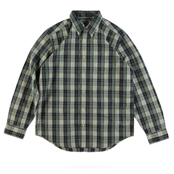 Filson Sutter Sport Shirt Off White/Blue/Green