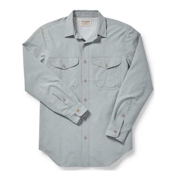 Filson Twin Lakes Sport Shirt Mint Gray