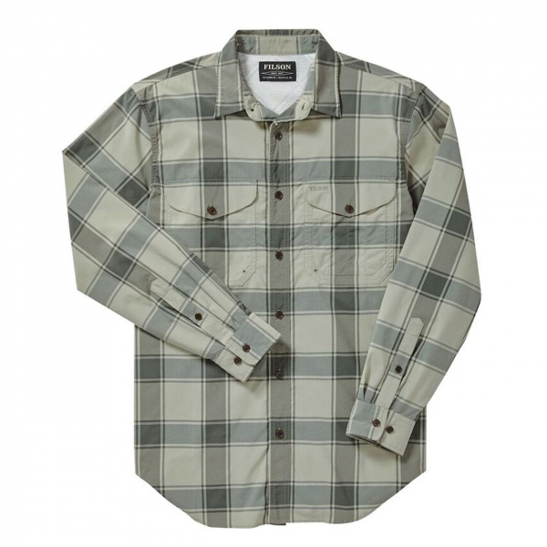 Filson Twin Lakes Sport Shirt Sea Green/Lichen