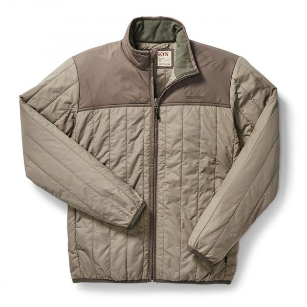 Filson Ultra Light Quilted Jacket Rustic Tan