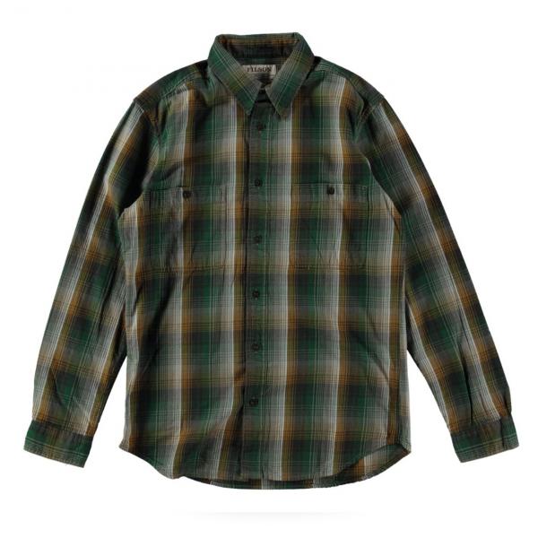 Filson Wildwood Shirt Green Gold