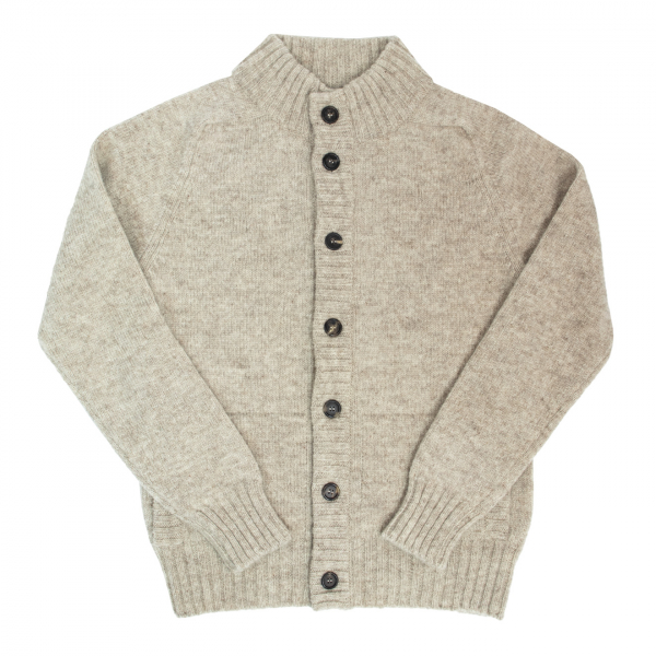 Filson Womens Cardigan Jacket Natural