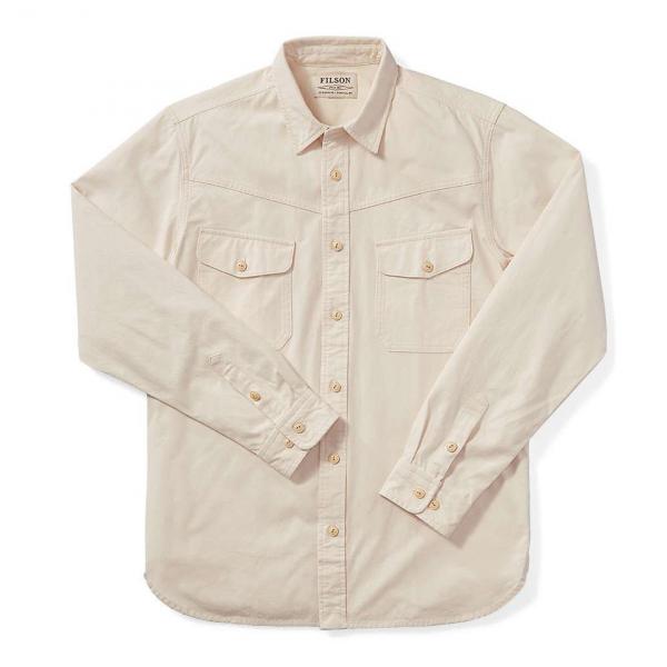 Filson Yukon Chamois Shirt Birch