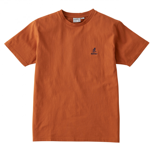 Gramicci Big Running Man T-Shirt Orange