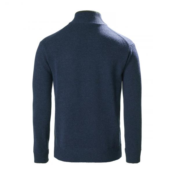 Musto Country Zip Neck Fleece Dark Cobalt