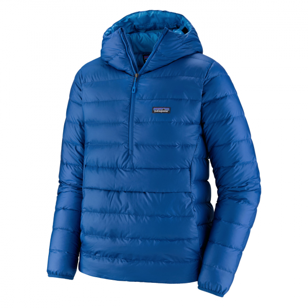 Patagonia Down Sweater Hoody Pull Over Jacket Superior Blue