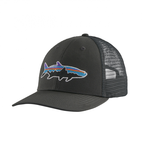 Patagonia Fitz Roy Fish LoPro Trucker Hat Forge Grey / Fitz Roy