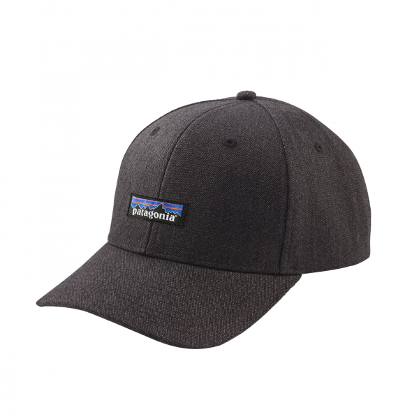 Patagonia Tin Shed Hat P-6 Logo Ink Black