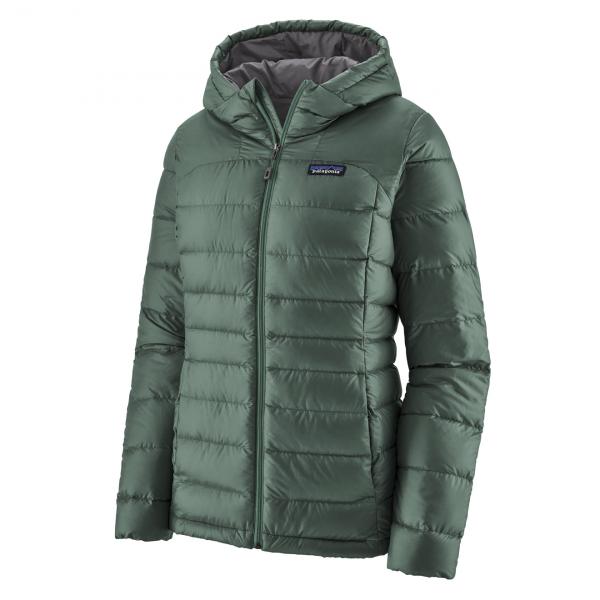 Patagonia Womens Hi-Loft Down Hoody Jacket Regan Green