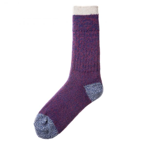 Patapaca Melange Sock Azulino / Wine