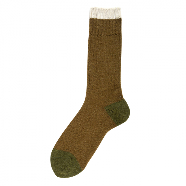 Patapaca Melange Sock Olive / Army