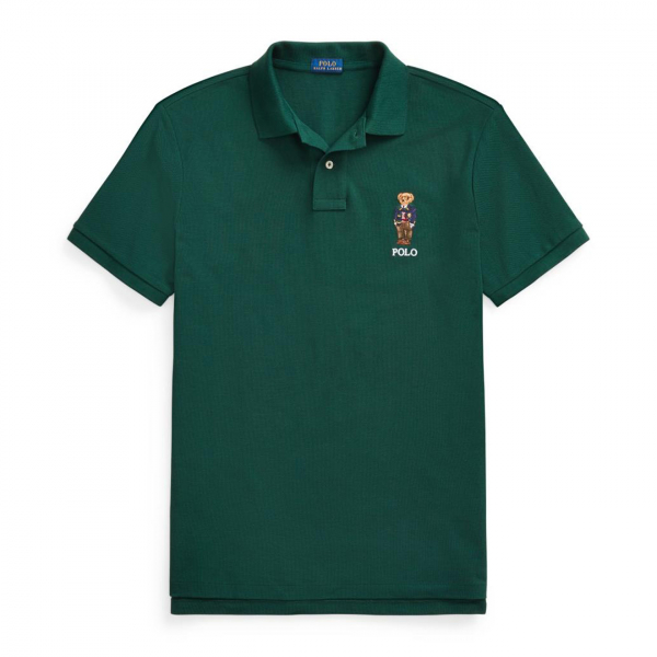 Polo Ralph Lauren Bear Logo S/S Polo Green
