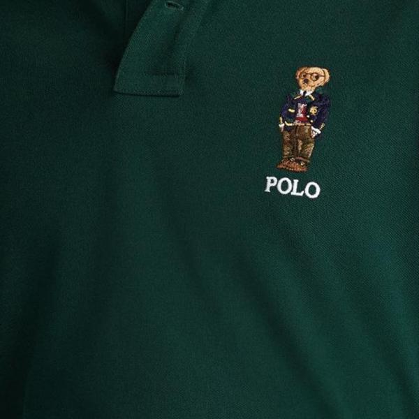 Polo Ralph Lauren Bear Logo S/S Polo Green