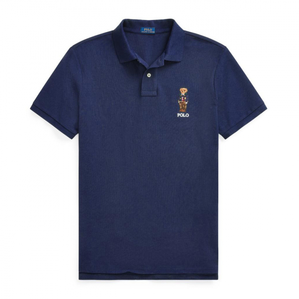 Polo Ralph Lauren Bear Logo S/S Polo Navy