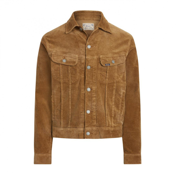 Polo Ralph Lauren Corduroy Western Jacket Piermont Heather