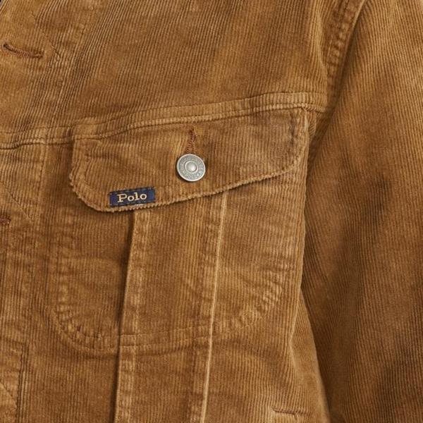 Polo Ralph Lauren Corduroy Western Jacket Piermont Heather