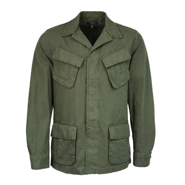 Polo Ralph Lauren Cotton Ripstop Jungle Jacket Army Green